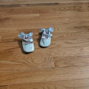 Stepping Stones baby girl dress shoes 6-9 months